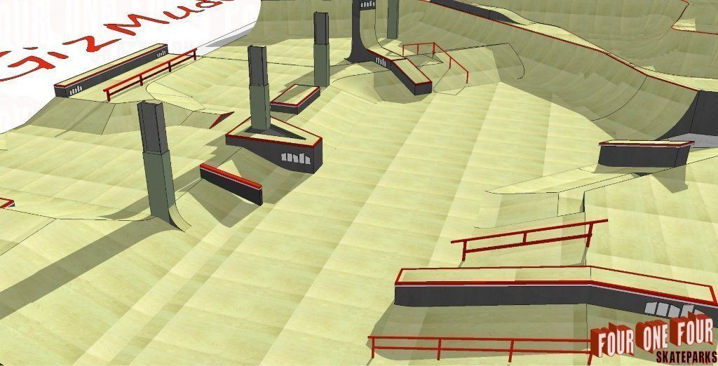 Mount Hawke Skatepark built by Four One Four