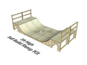 Skate Ramp Kit for Sale, Self Build, DIY Ramp 3ft High