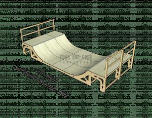 Skate Ramp Kit for Sale, Self Build, DIY Ramp 3ft High