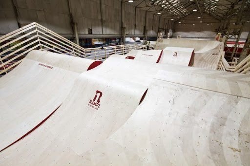 Ramp 1 Indoor Skatepark Ramps